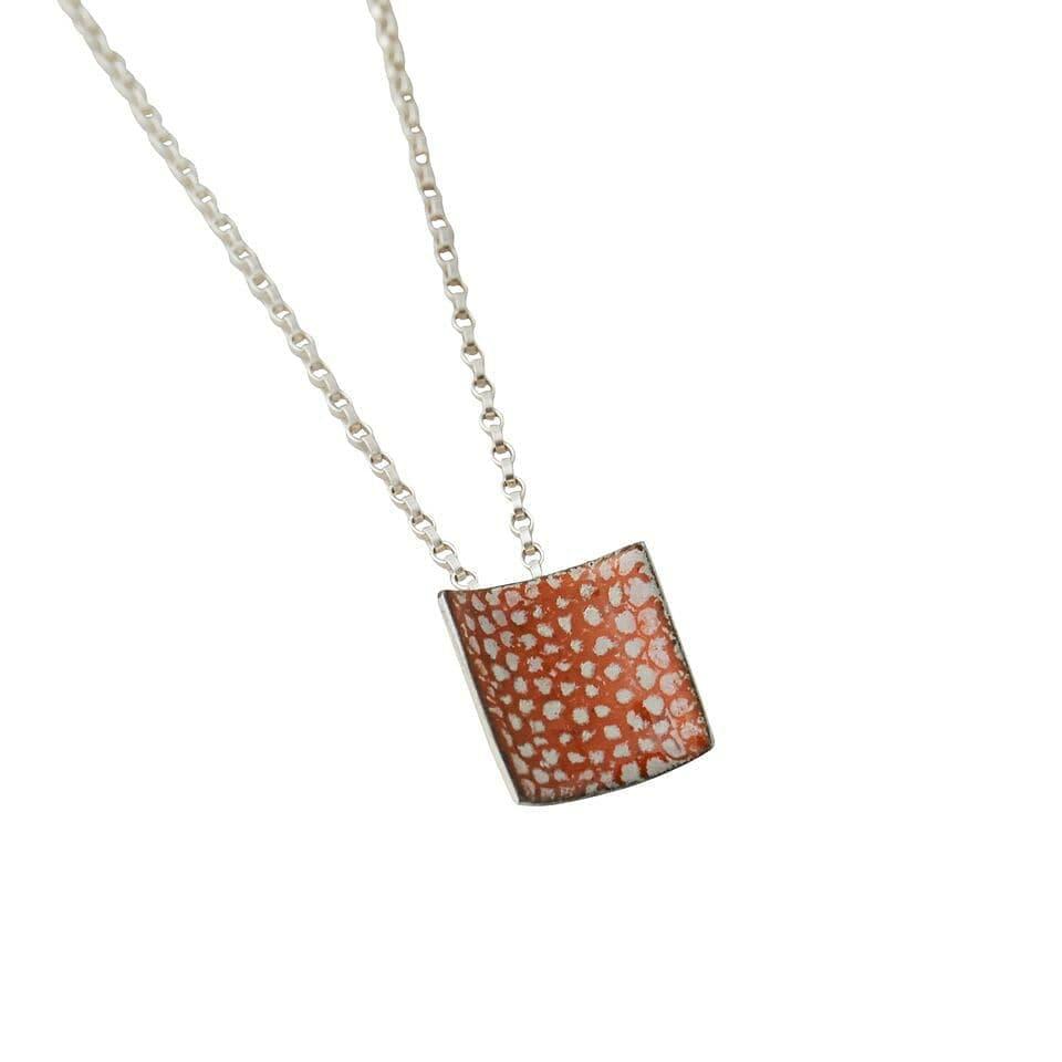 Square Shaped Pendant in Tangerine - Emily Higham.jpg