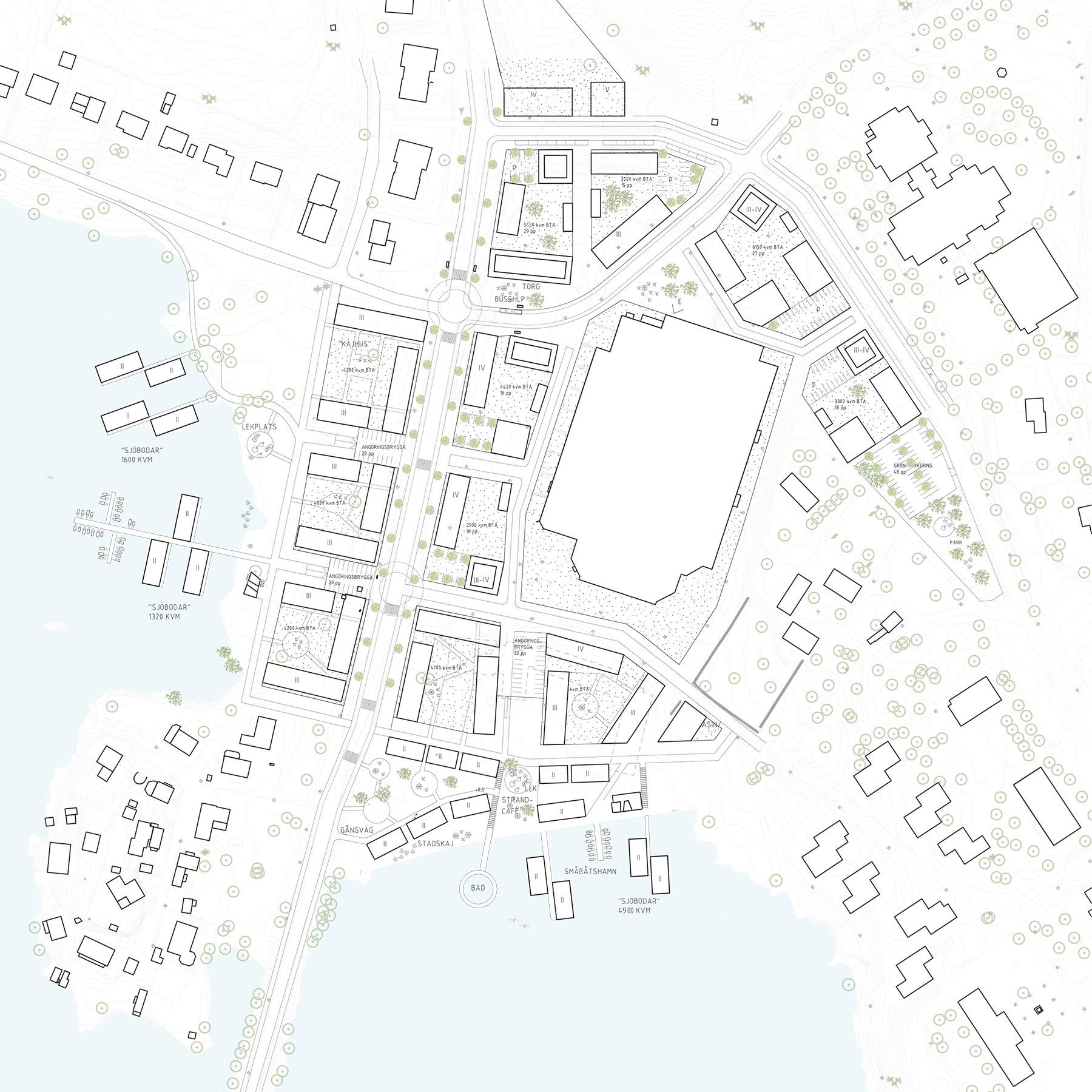 Strukturplan för Södra Tosterön i Strängnäs.
