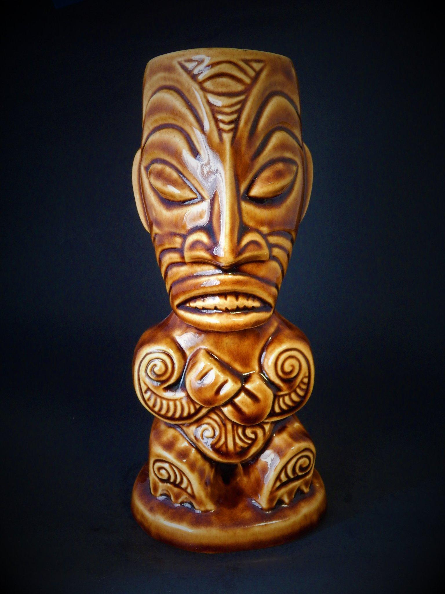TIKI DIABLO NGERO MOHOAO MUG ($95)
