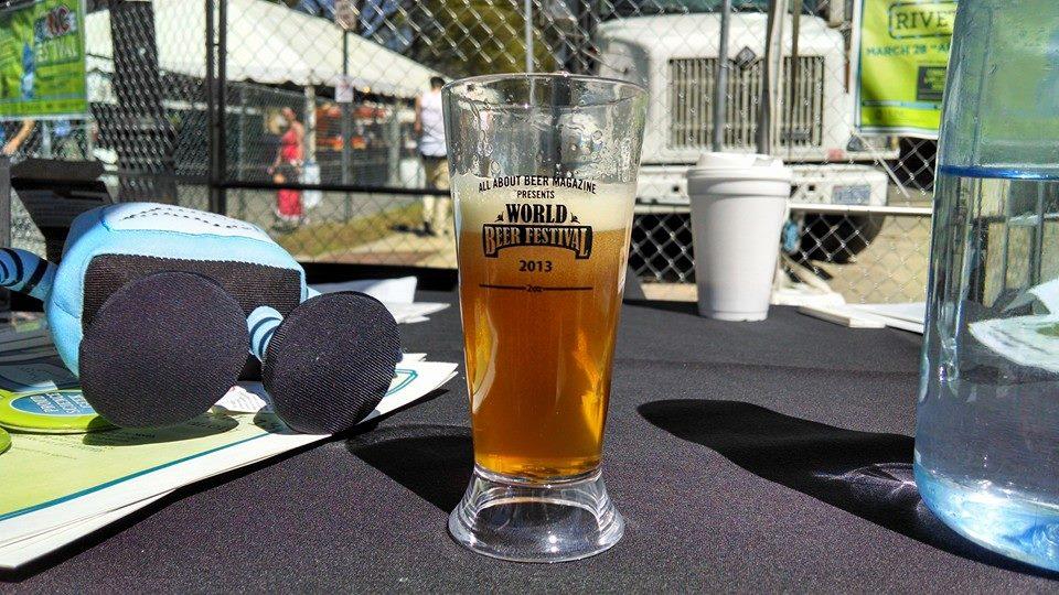 Wasp Beer debuting at the World Beer Festival in Raleigh, N.C.
