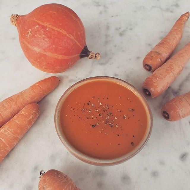Aujourd'hui c'est soupe de potimarron 😋  #gluten #glutenfree #nogluten #sansgluten #glutenfreelife #lifewithoutgluten #coeliac #glutenfreelife #glutenfreelifestyle #glutenfreefood #glutenfreeliving #organic #bio #soup