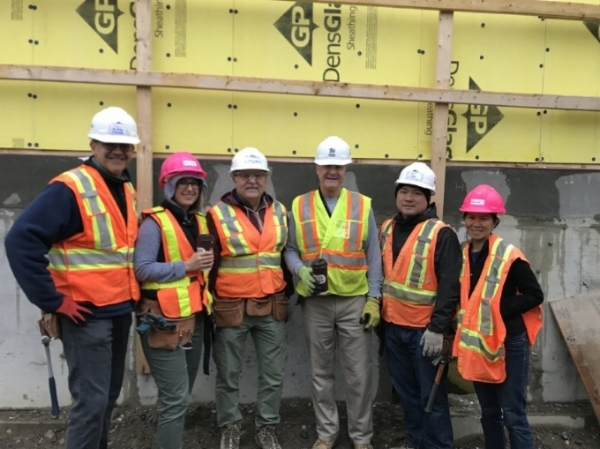 On October 2nd, JCIC took part in the Adopt-A-Day program with Habitat for Humanity. This program is to help build safe and decent homes for low-income families. We would like to thank Andrew, Kai, Doug, Steve, Dorothy and Laura for participating in the day and for our whole JCIC team for surpassing our fundraising goal.