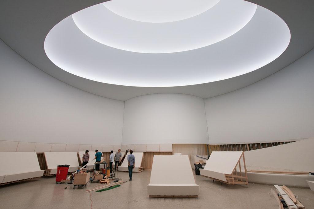 James Turrell Exhibit, Guggenheim NYC