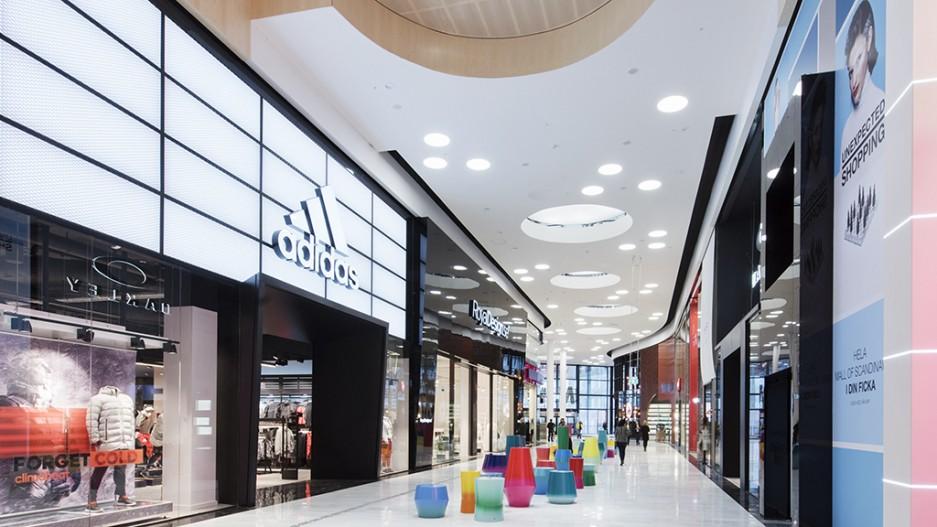 The Mall of Scandinavia  - Fellert Acoustical Plaster