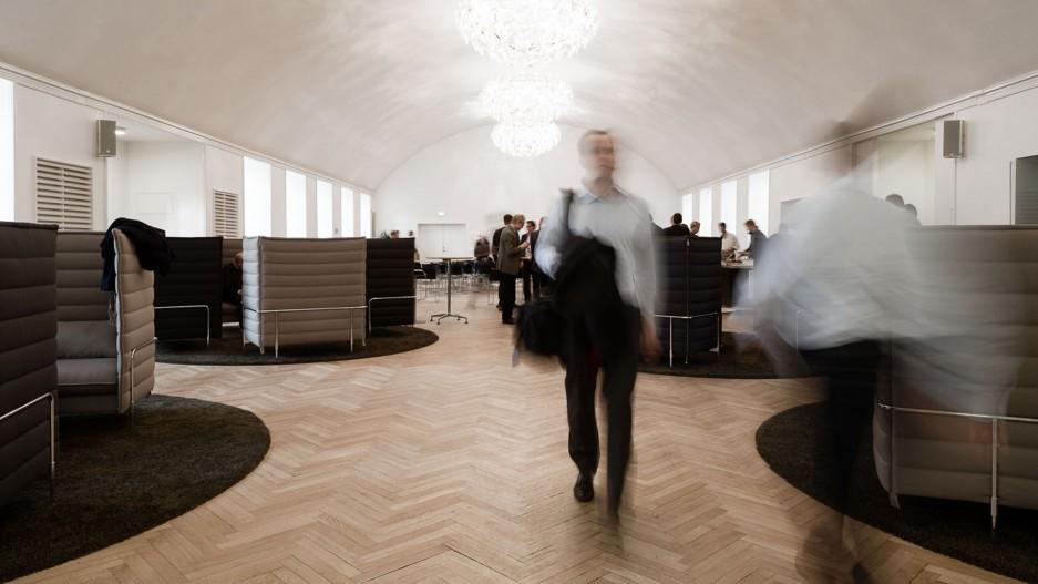 Implement Office  - Fellert Acoustical Plaster