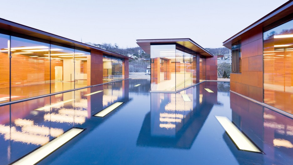 Daeyang Gallery and House  - Fellert Acoustical Plaster