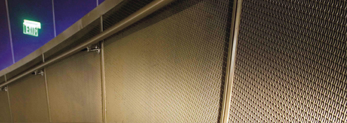 AC770 - Wire Mesh Wall Panel System
