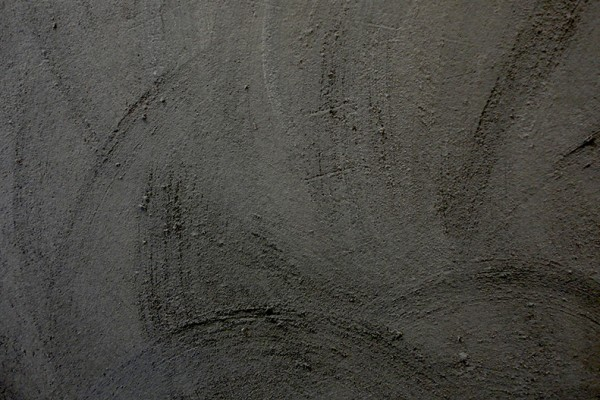 """A close-up shot of one concrete finish option, named """"Lucille."""""""