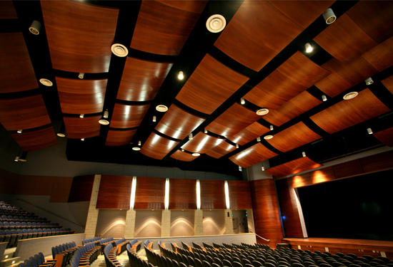 John Burroughs School with Allegro Curved Ceiling Panels