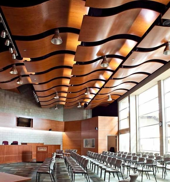Farmington Hills City hall with Allegro Curved Panels