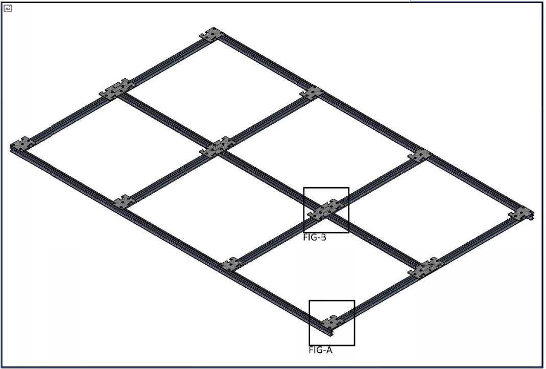 Aptus Torsion Spring Suspension System – Typical 2'x2' Grid