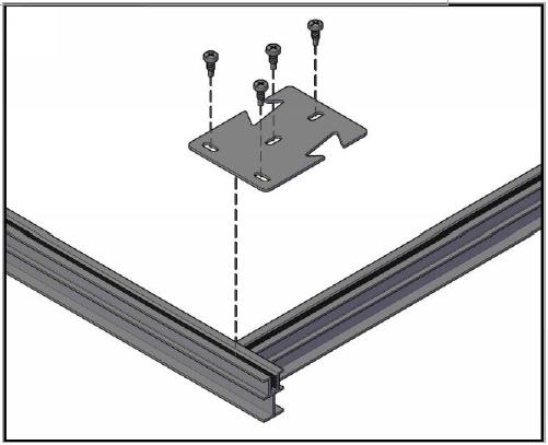 FIG-A: Corner Grid Connection