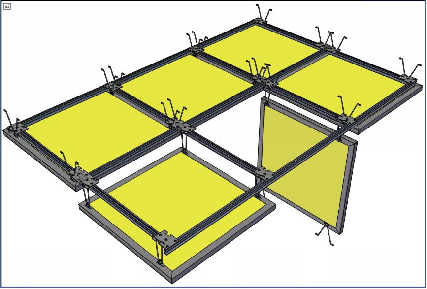 FIG-C: Aptus Torsion Spring Suspension System (Perspective View)
