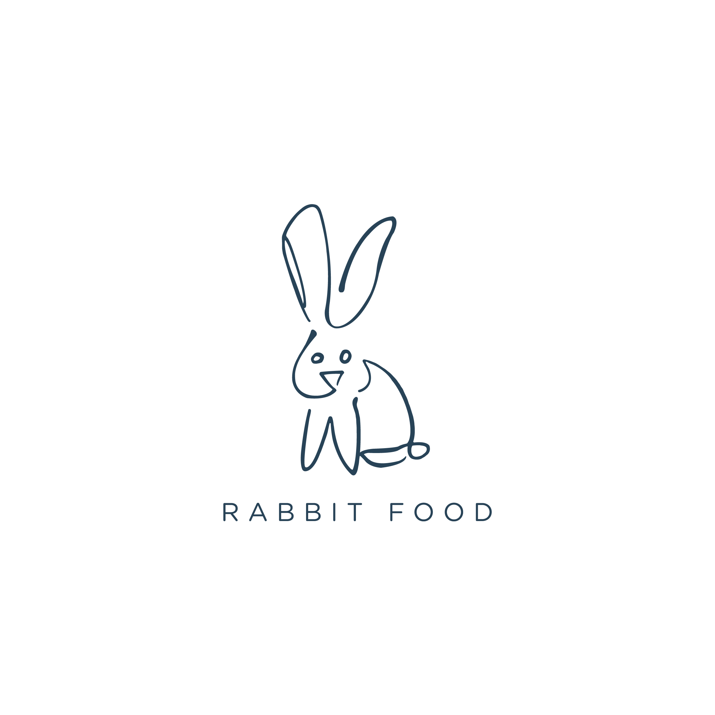 "Rabbit Food - A plant based, allergen free vegan kitchen opening in Bristol, UK""Nothing cooler than working with someone who will be as passionate about your ideas as you. Pedro bought what we wanted to life and in every way we wanted. He pushed us to think about more than just pantones but how we wanted our brand to be perceived, and helped us develop an ethos which we can carry with us."""
