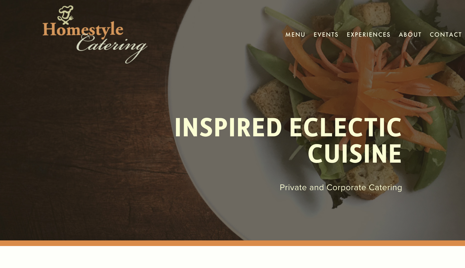 HOMESTYLE CATERING - culinary