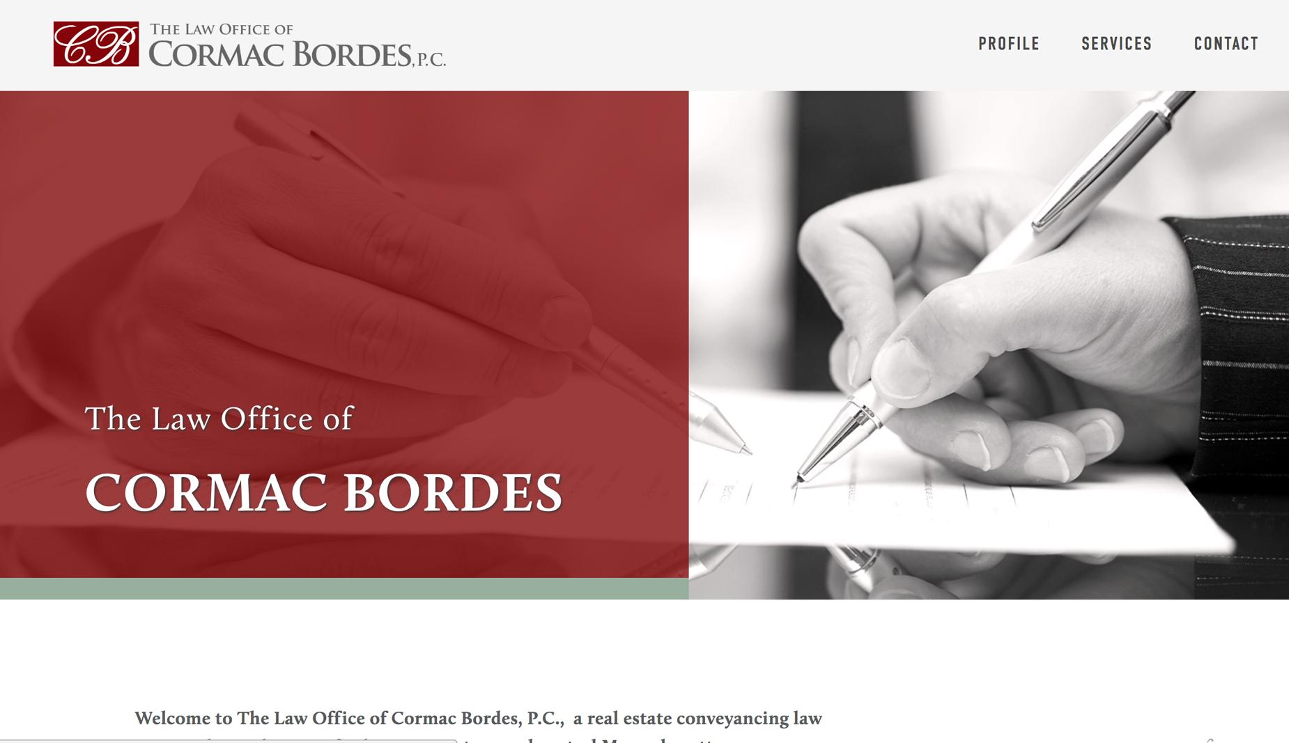 CORMAC BORDES - attorney