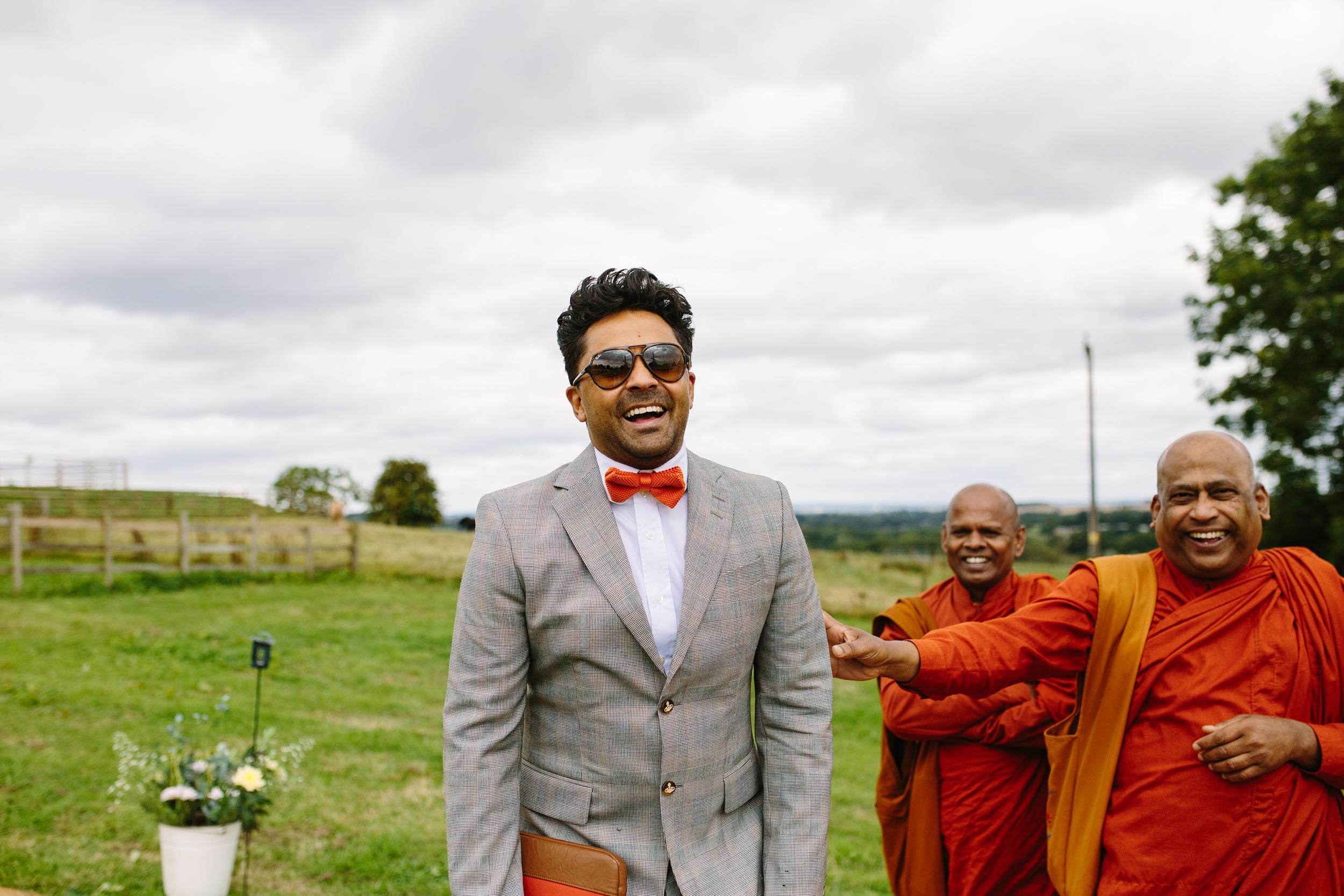 Creative wedding photographer in Worcester