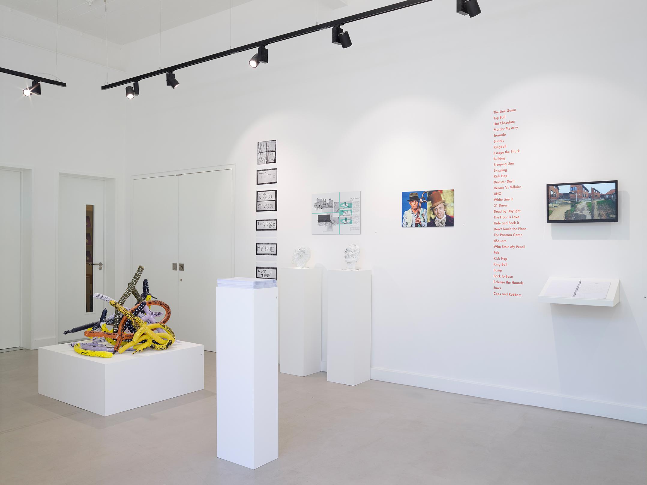 Brink Installation View (Peter Mallet, Courtesy of Freelands Foundation)
