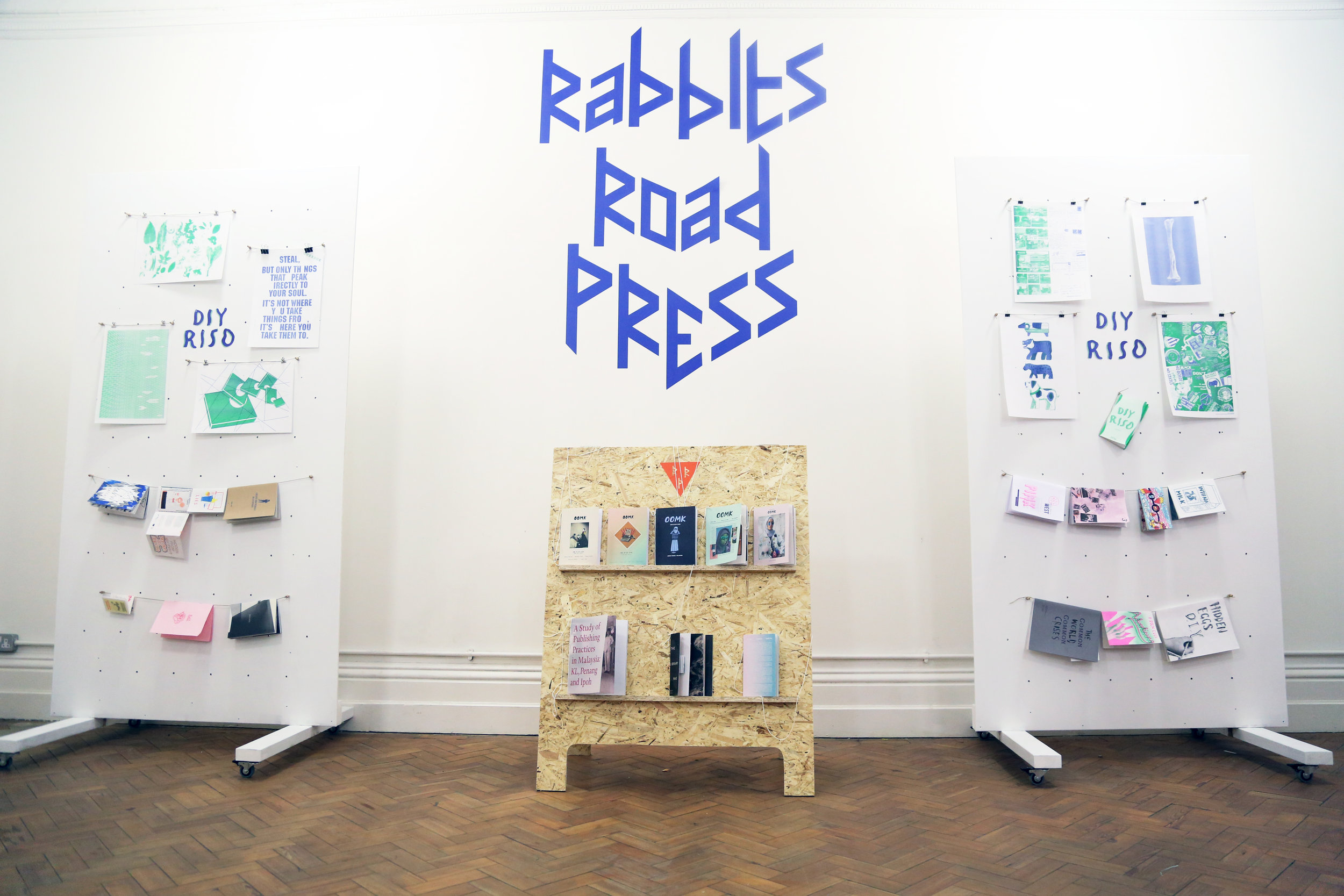 Rabbits Road Institute - OOMK are the current artists in residence with their project Rabbits Road Press.