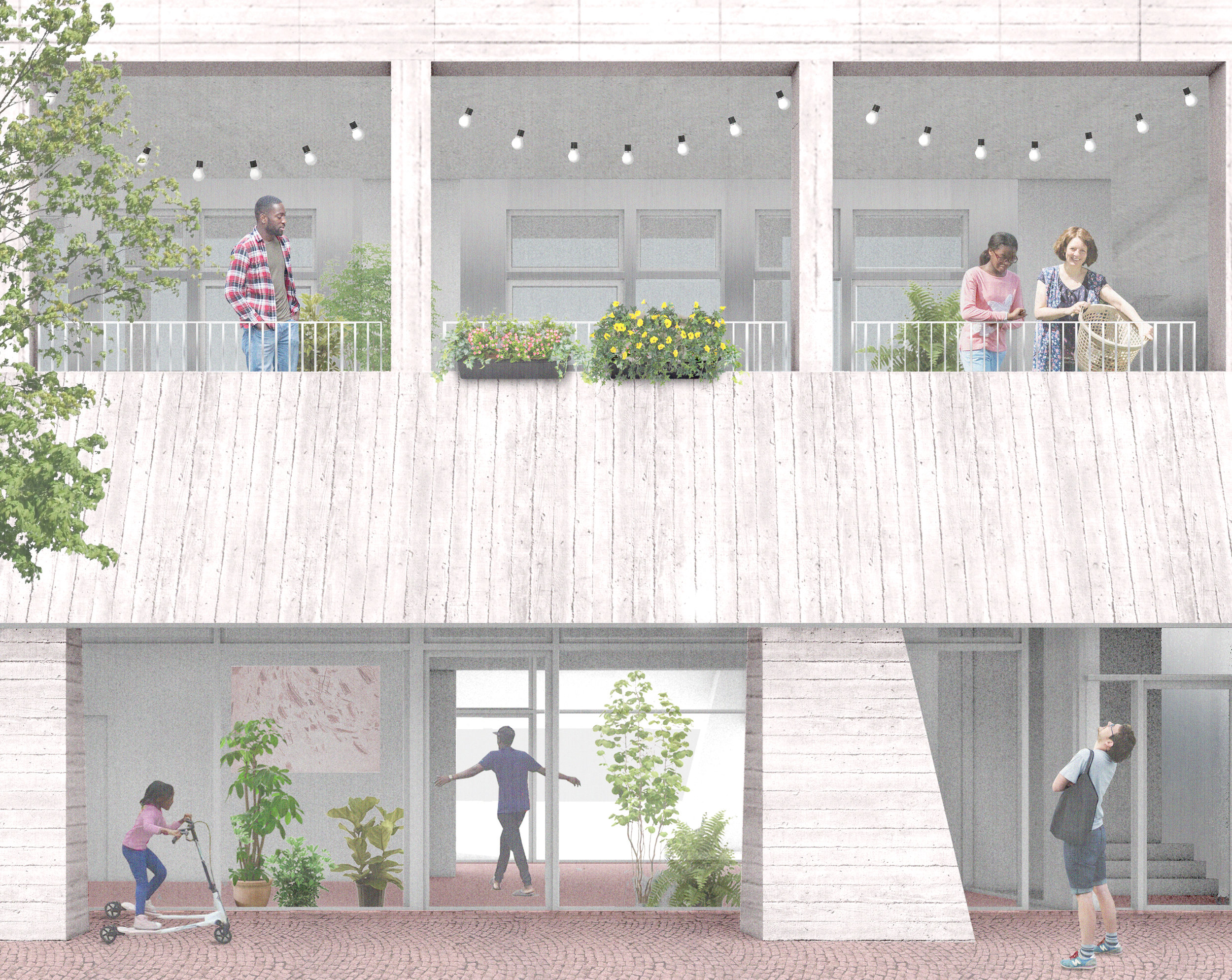 A House for Artists - A House for Artists, an ambitious new affordable housing project in Barking Town Centre. Image courtesy of Apparata.