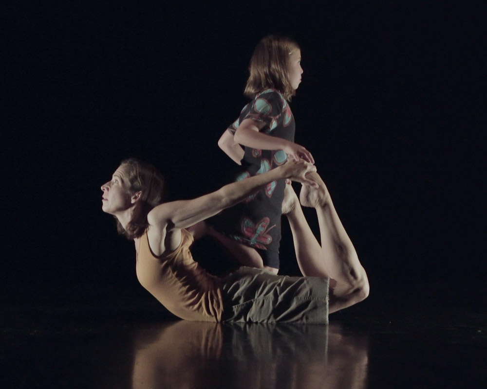 The story of a mother/daughter collaborative dance performance and film about their unspoken connection, called BOAT. (Image by Charles Borowicz)