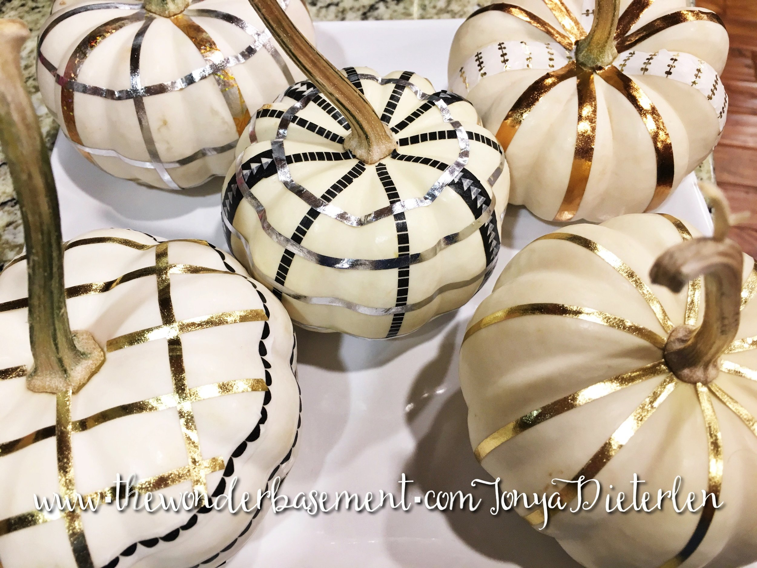 Mini-white pumpkins, for more than just one holiday!