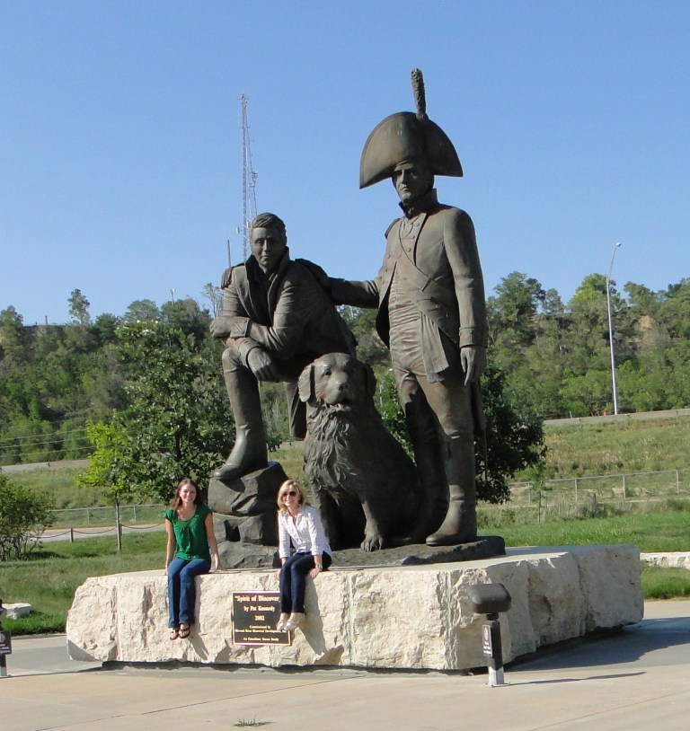 And here we are on our cross-country trek. With Lewis and Clark. Obviously.