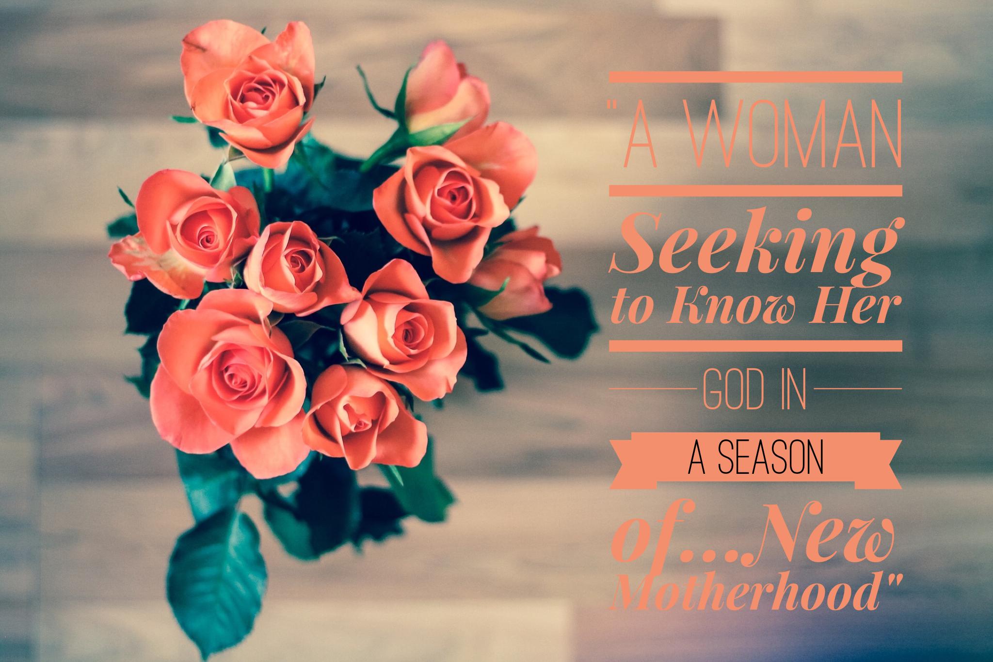 A Woman Seeking to Know Her God in a Season of New Motherhood | www.codyandras.com/blog/2017/8/24/a-woman-seeking-to-know-her-god-in-a-season-of-new-motherhood