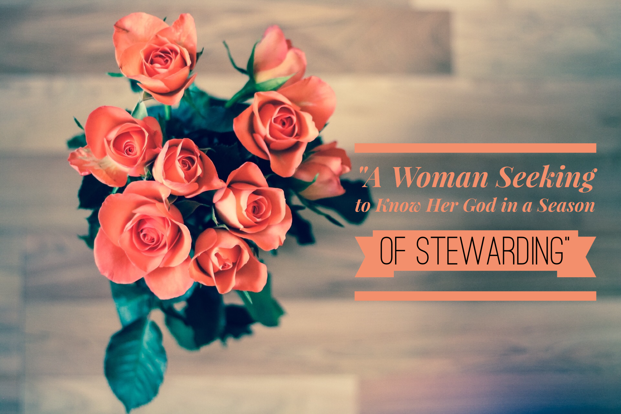 A Woman Seeking to Know Her God in a Season of Stewarding | www.codyandras.com/2017/9/6/a-woman-seeking-to-know-her-god-in-a-season-of-stewarding