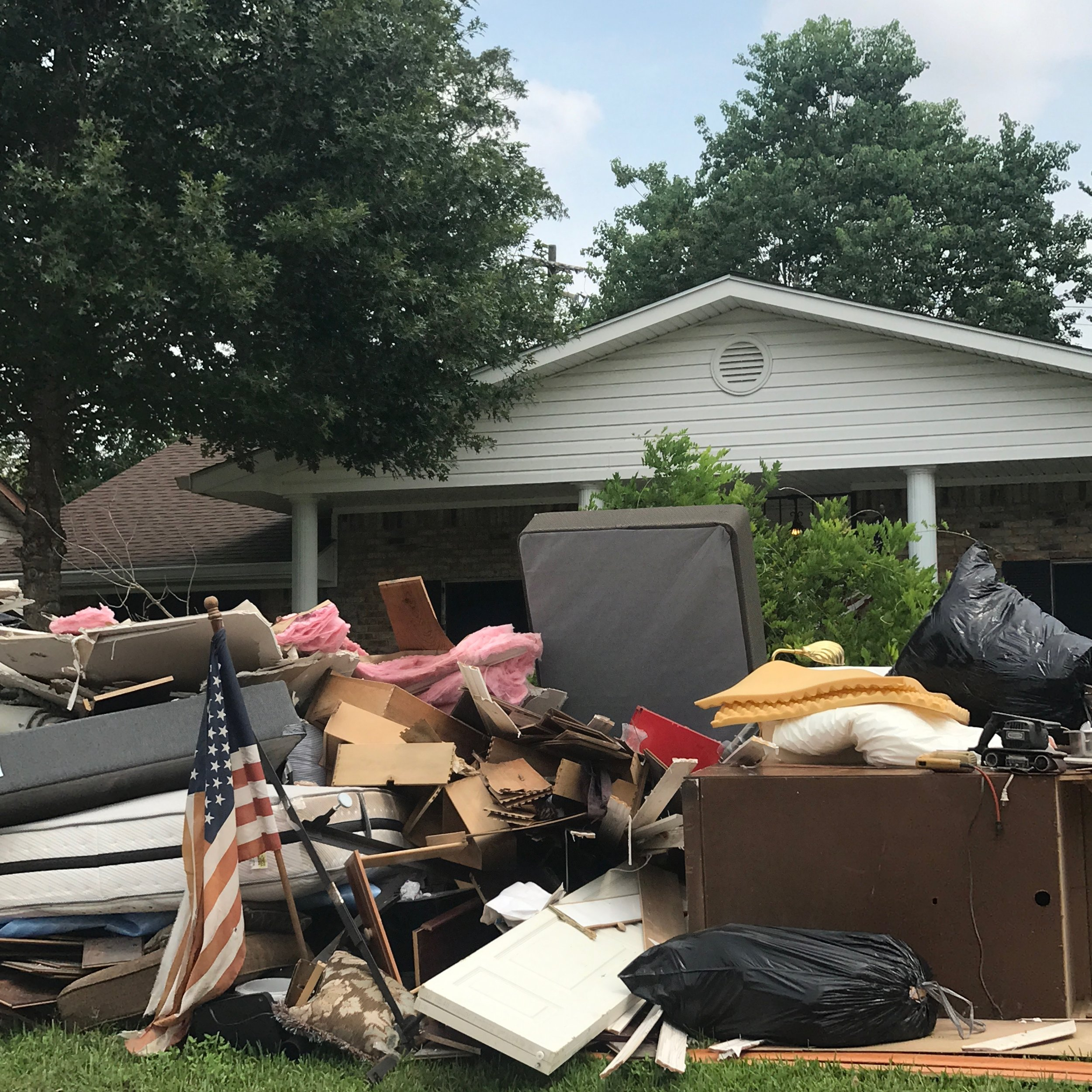 This is devastation. But our city has not lost its hope. Photo Cred: Lindsee (the photojournalist of all of our flood experiences)