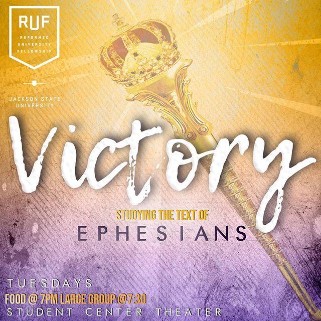 See y'all tonight!! Bring a friend! #rufjsu #victory