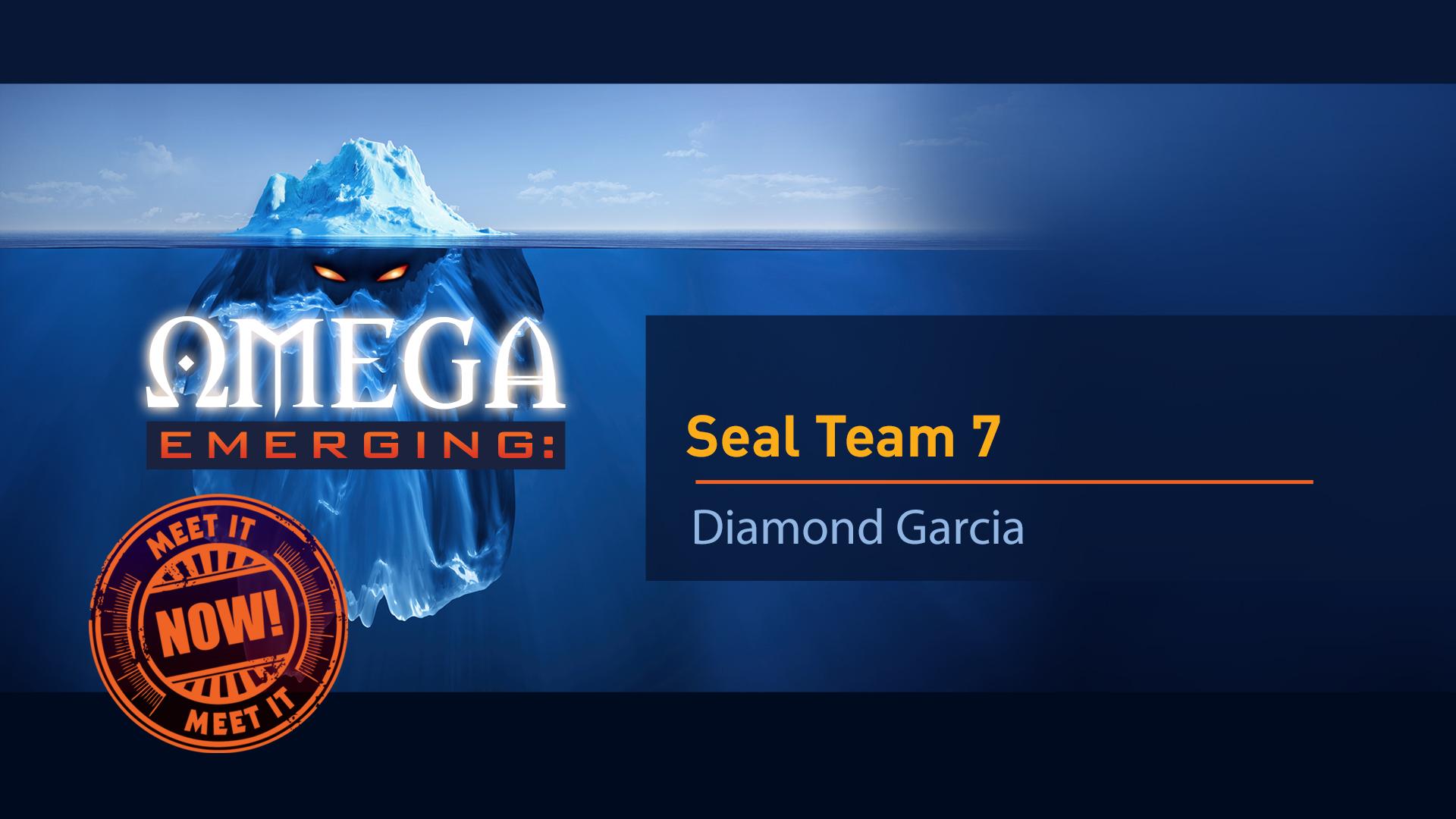 3. Seal Team 7 - Diamond Garcia