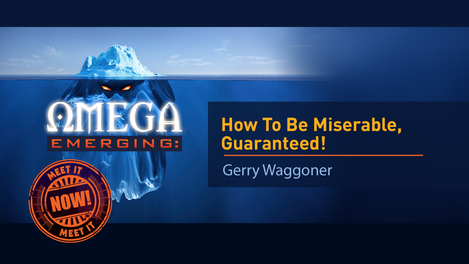 4. How To Be Miserable, Guaranteed - Gerry Waggoner