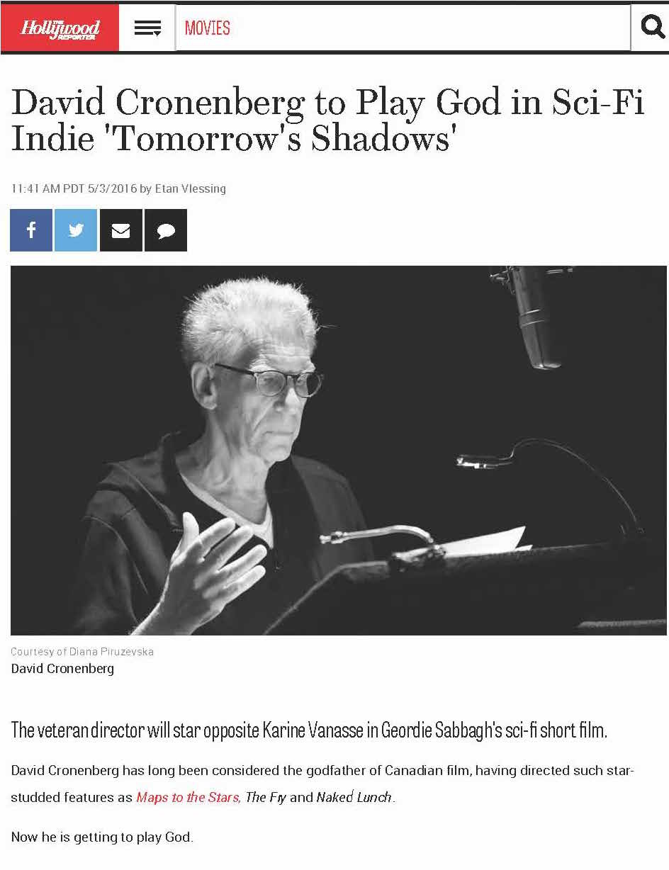 David Cronenberg to Play God in Sci-Fi Indie 'Tomorrow's Shadows' _ Hollywood Reporter_Page_1.jpg