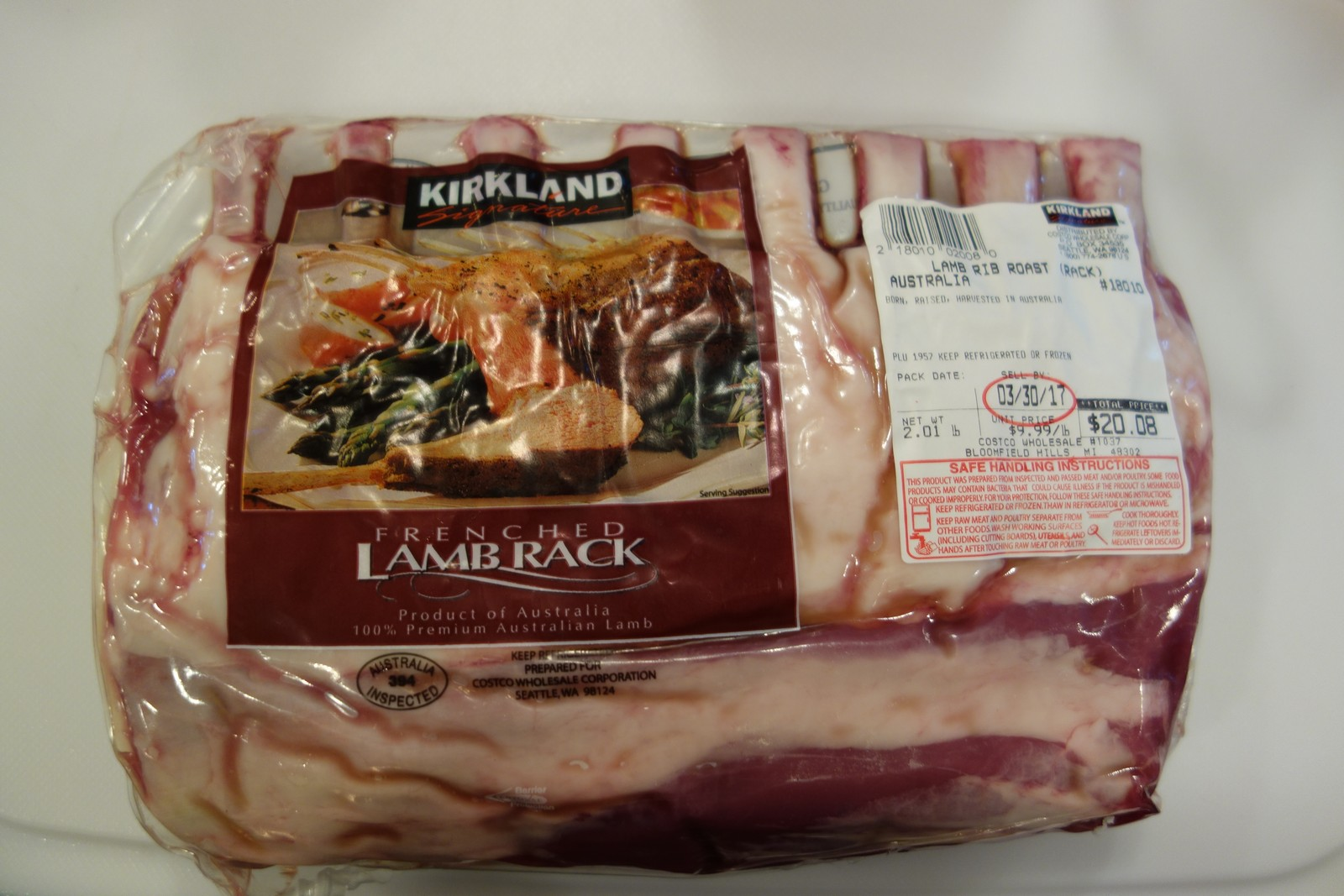 This is a large Australian rack from Costco.