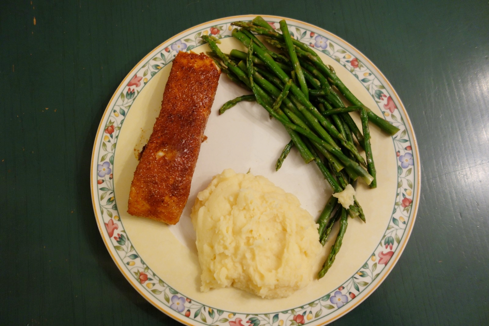 I use a food thermometer to ensure the salmon is always juicy, flaky, and flavorful.