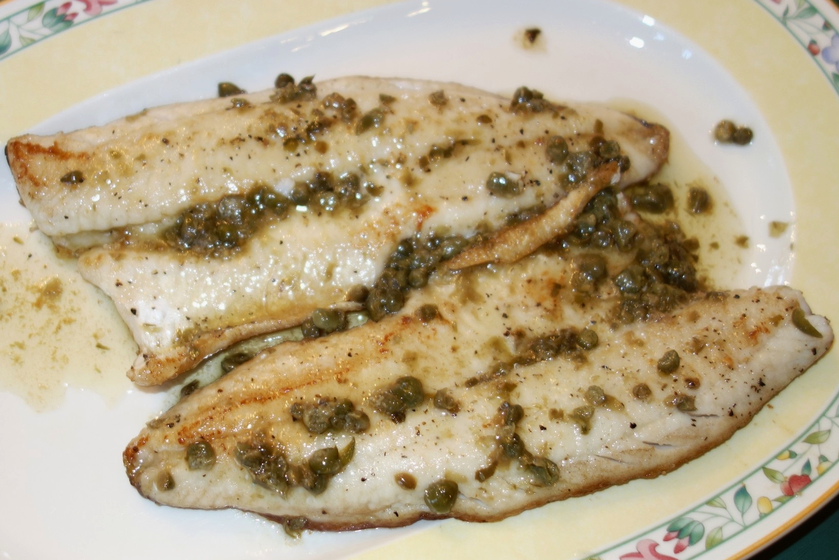 Pan-frying fish with skin-on is not that difficult, and makes a nice change to typical dinner fare.