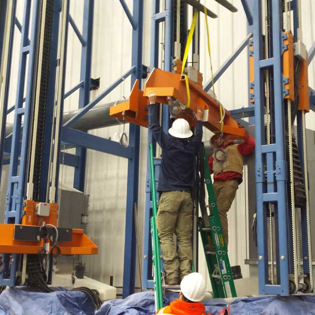 Drill pipe lifting towers cradle installation - weatherford international, colorado springs