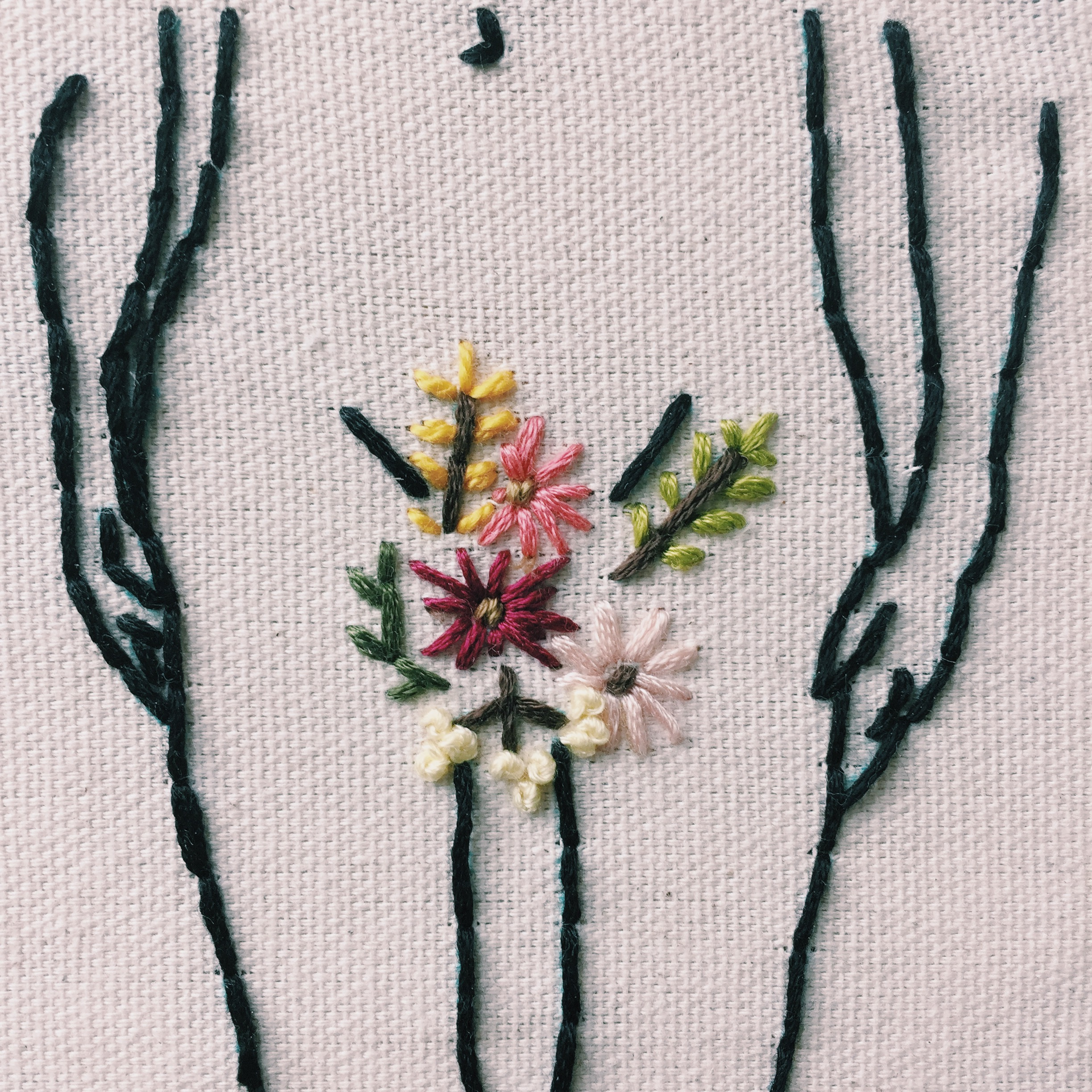 femme-broidery by  camp cape
