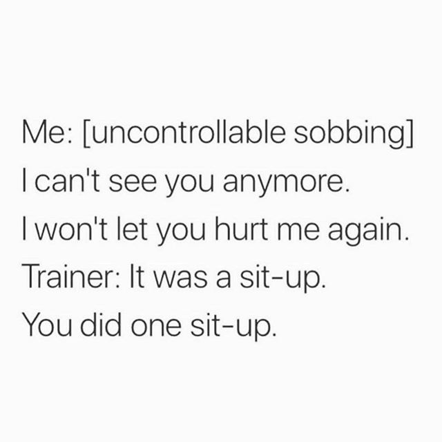 Anyone else skip every workout they had planned this week? Cool, me too. • #repost from @iamwellandgood