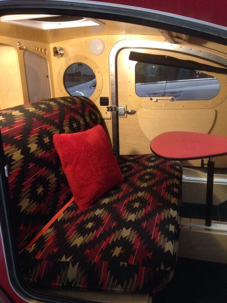 Teardrop camper _ sofa bed mechanism with mattress.jpg