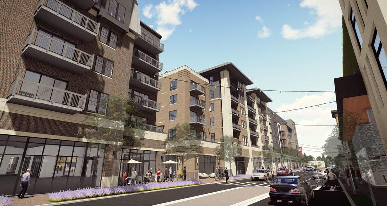 Nolan Mains   Edina, MN—100 luxury apartments with 30,000 SF of retail