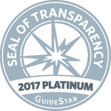 MDM has the highest level of transparency possible through               GuideStar.