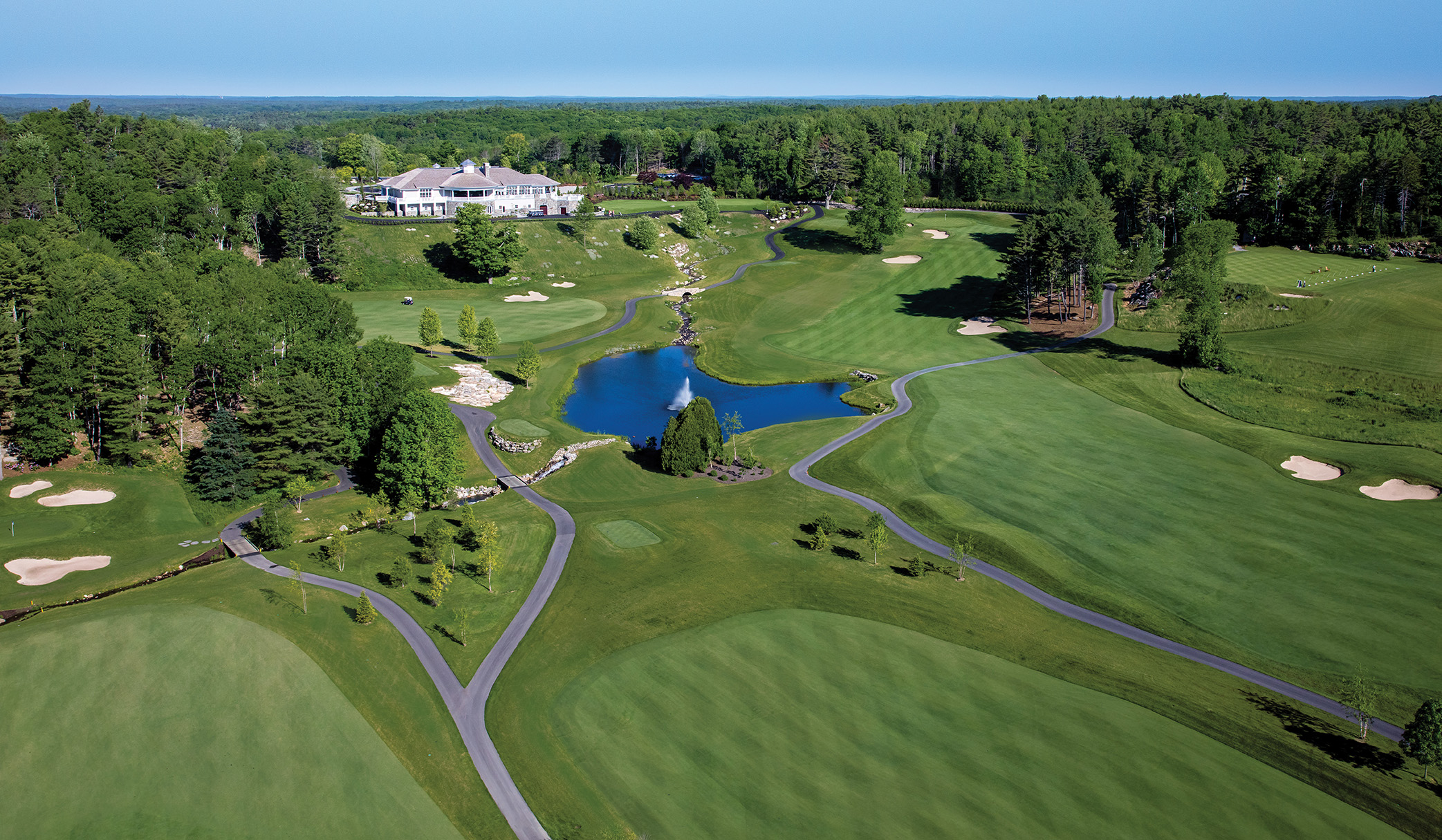 at the Exclusive  Boothbay Harbor Country Club