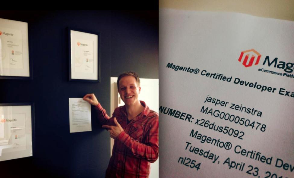 MediaCT Magento Certified Developer Jasper Zeinstra