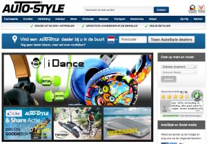 AutoStyle homepage