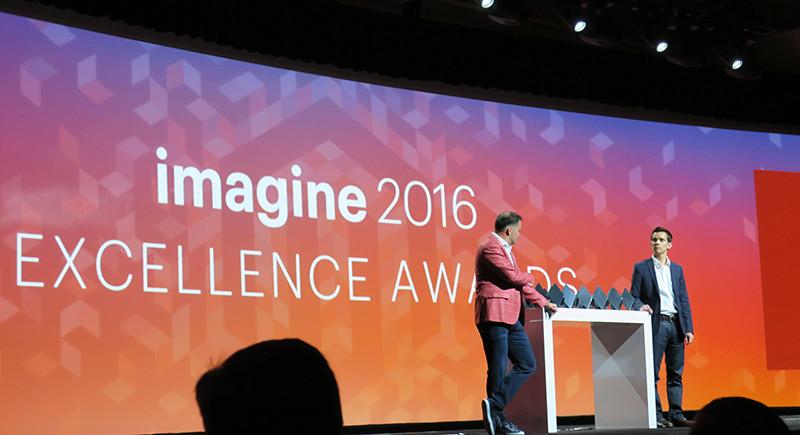 De gepresenteerde awards tijdens het Magento Imagine evenement