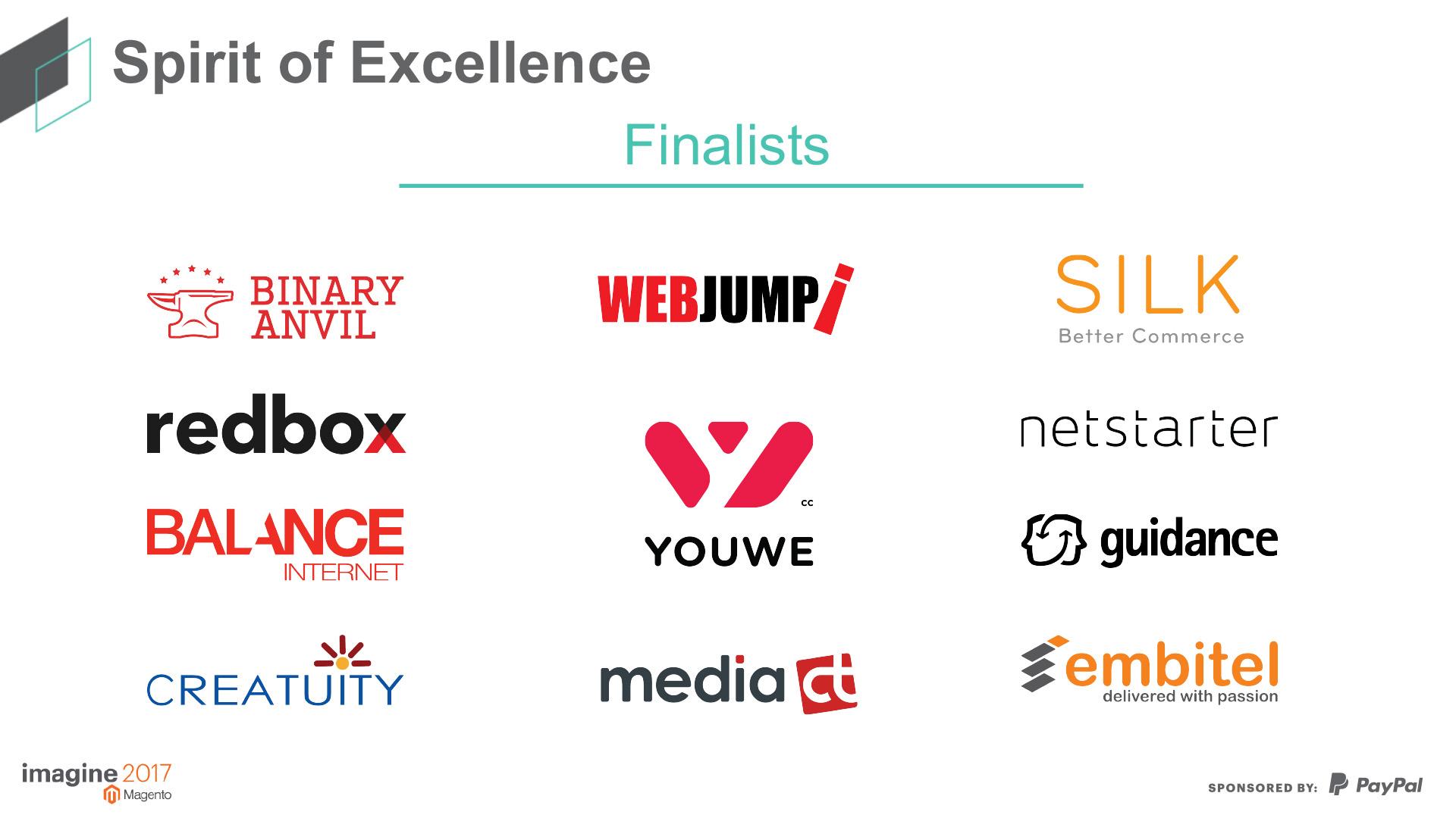"""MediaCT was dit jaar wederom genomineerd voor de """"Spirit of Excellence"""" partner award."""