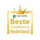 Nederlands beste Winkelketen in herenmode 2016-2017, 2017-2018, 2018-2019