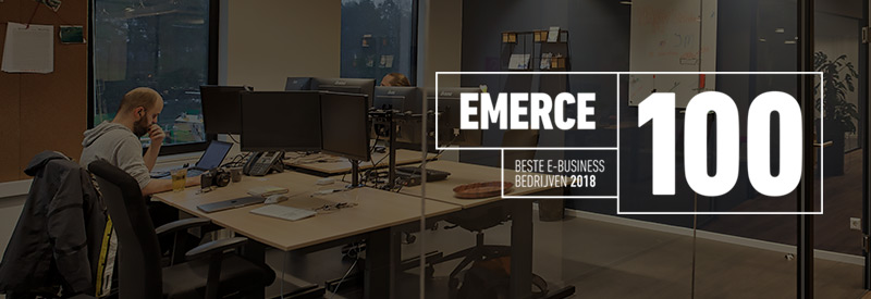 Emerce 100 MediaCT Beste E-business bedrijven 2018